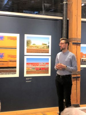 Eliot Wright Photographer Further Along The Road Artist Talk with Vid Ingelevics Gallery